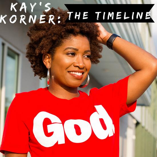 Kay's Korner: The Timeline